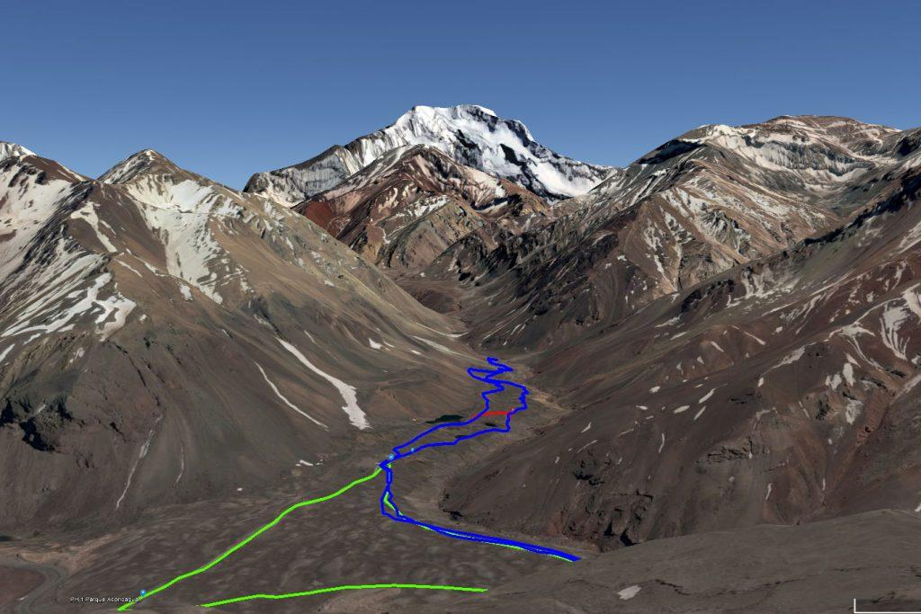 El Origen Aconcágua 2018 terá percursos a 3.000m de altitude em média (chegando a 4.000m)