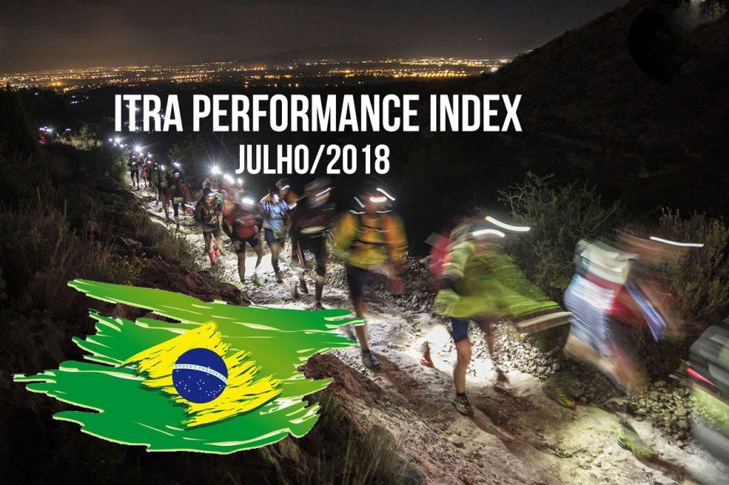 ITRA Performance Index: Top 6 brasileiros / julho 2018