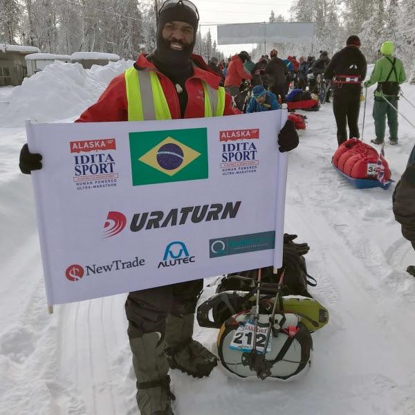 A vitória no Alasca foi a consagração de Jabá no mundo das ultramaratonas. Foto: Luciana Marchese