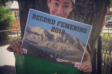 Mirlene Picin quebra recorde em prova de Km Verticall