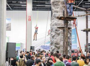Atrações interativas são um dos destaques da feira