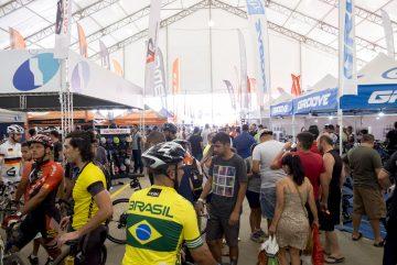 Área da Expo no Shimano Fest (Filipe Mota / FS Fotografia)