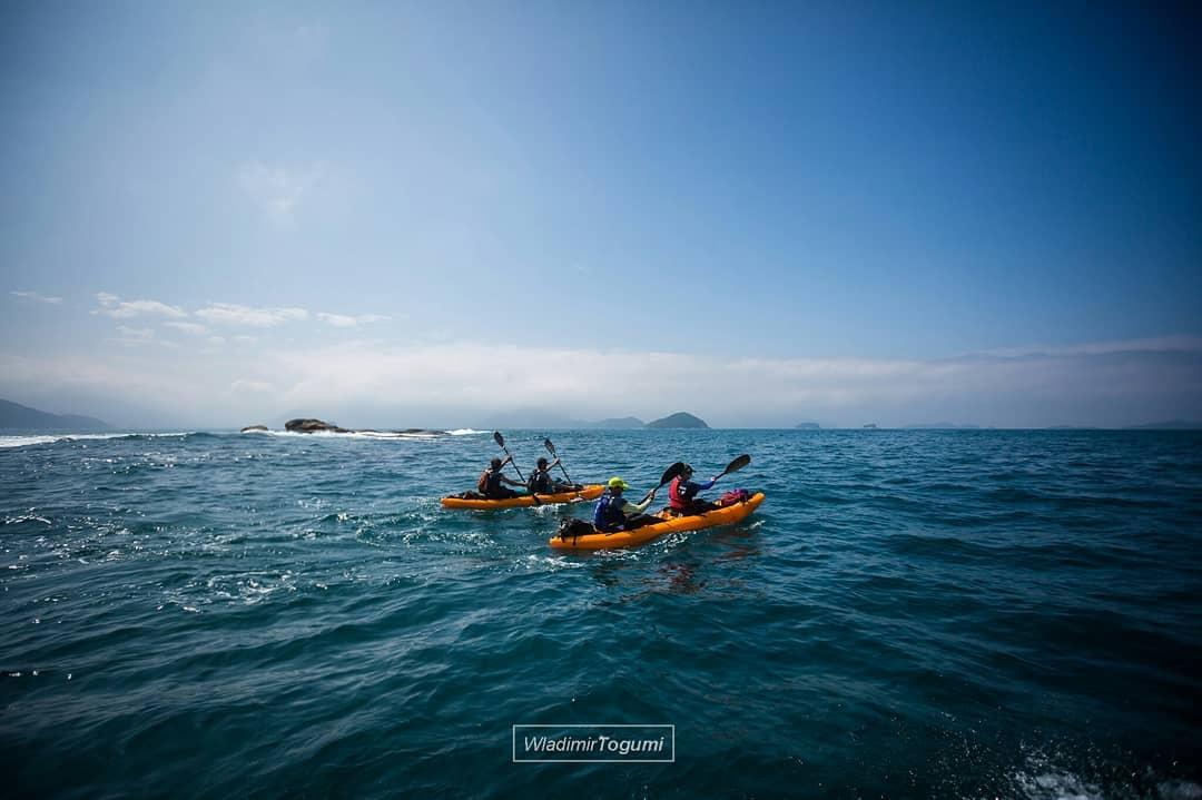 Canoagem na Expedição Terra de Gigantes 2018