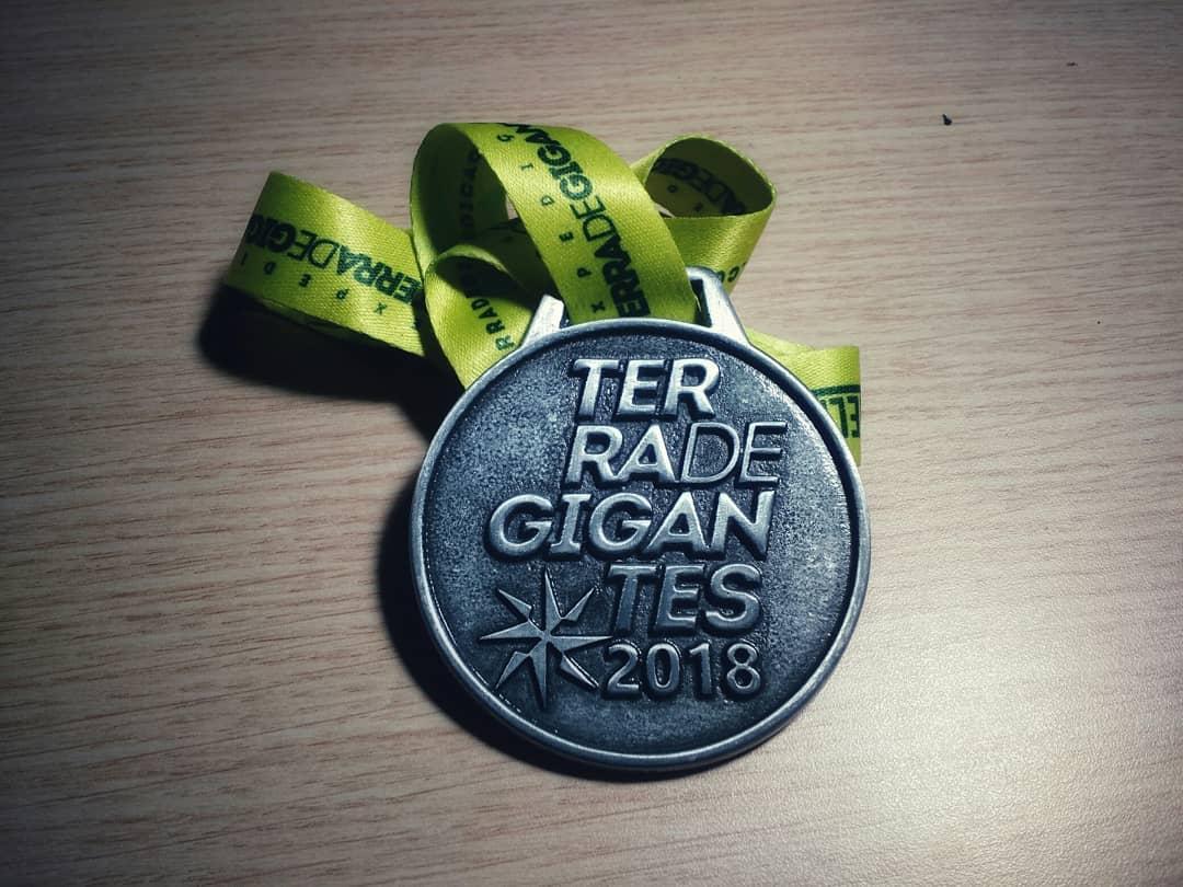 Medalha da Expedição Terra de Gigantes 2018
