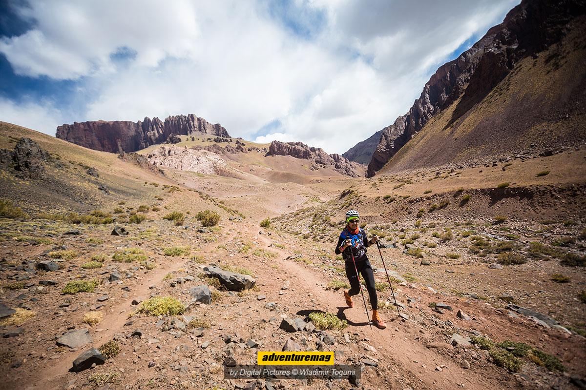 Cerro Penitentes ao fundo