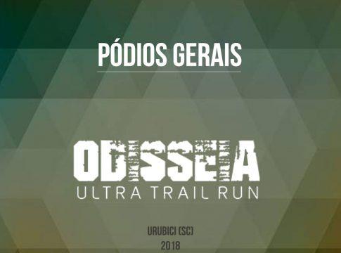Pódios Odisséia Ultra Trail Run