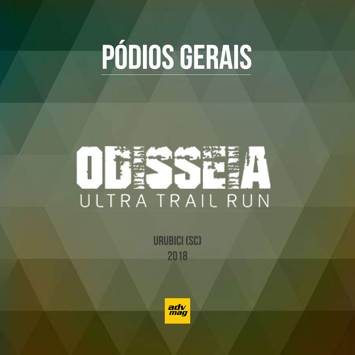 Pódios Odisséia Ultra Trail Run