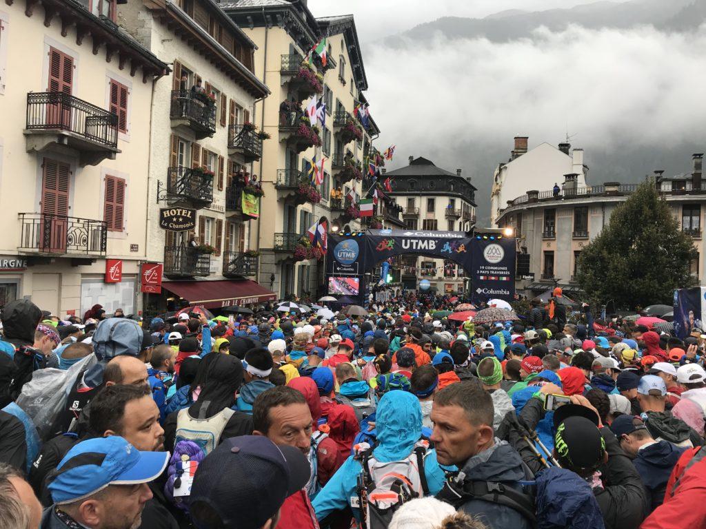 Chamonix, cidade de largada e chegada do UTMB