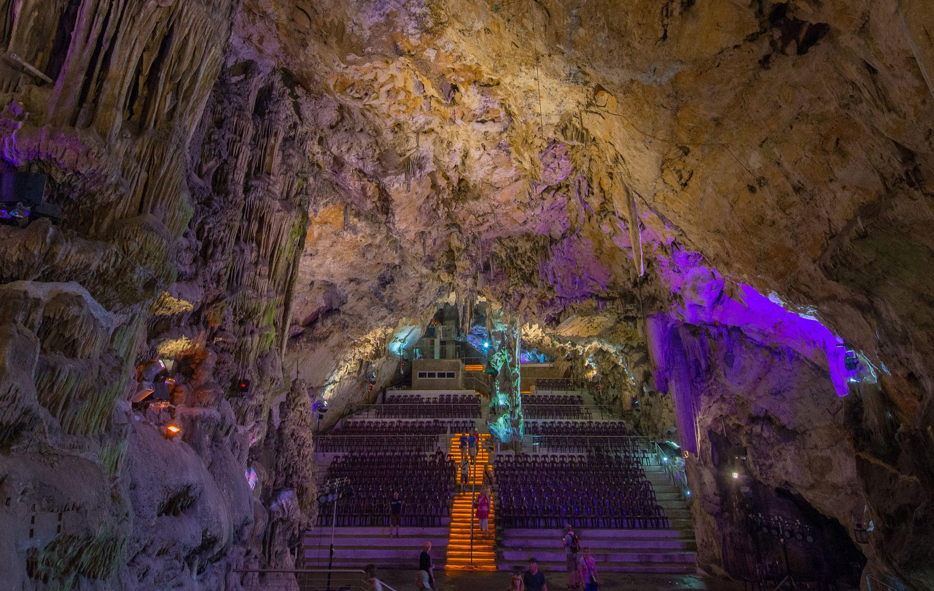 Caverna St-Michaels, chegada do primeiro dia do Eurafrica Trail