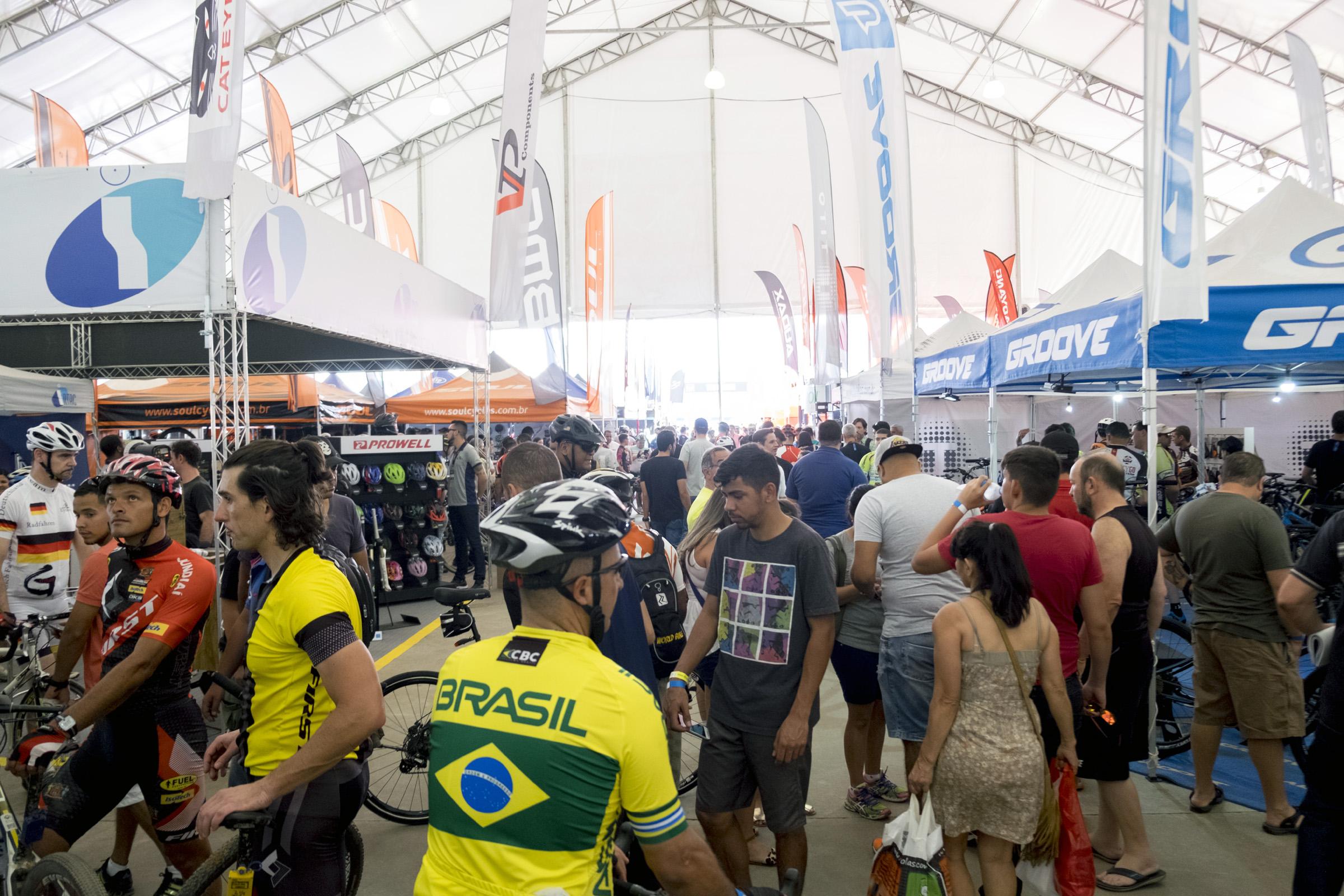 Área de Exposição Shimano Fest - foto: Felipe Mota
