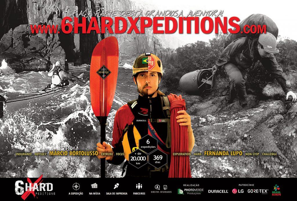 Casal aventureiro conclui uma das maiores expedições multiesportivas já realizadas